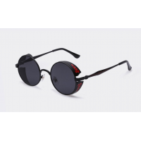Vintage Metal Carving Sunglasses