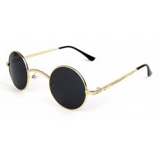 Small Round Steampunk / Gothic Sunglasses