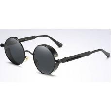 Round Steampunk / Gothic Sunglasses