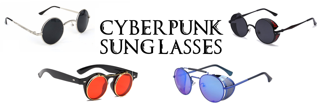 Steampunk and Cyberpunk Sunglasses