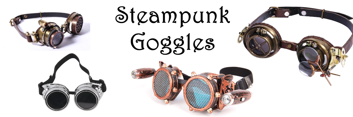 Steampunk and Cyberpunk Goggles
